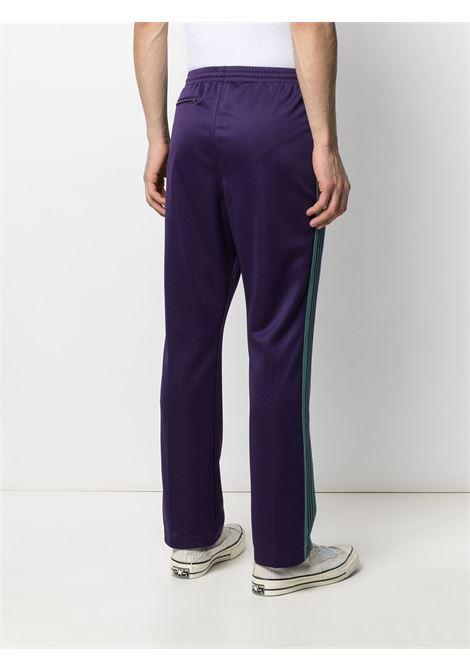 Needles needles pantalone uomo NEEDLES | Pantaloni | IN182EGGPLANT