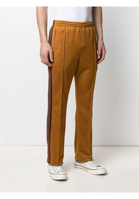 Needles needles pantalone uomo NEEDLES | Pantaloni | IN182MUSTARD