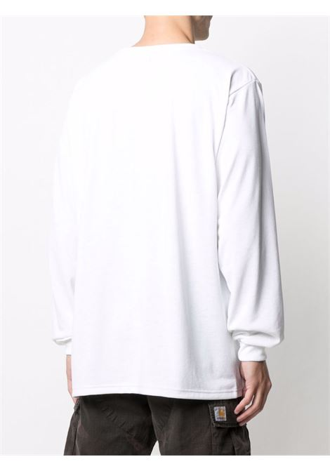 Needles long sleeve pocket man white NEEDLES | T-shirts | IN207WHITE