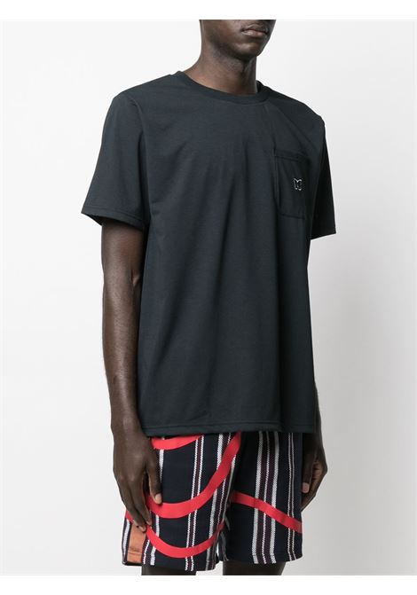 Needles t-shirt con ricamo uomo NEEDLES | T-shirt | IN210BLACK