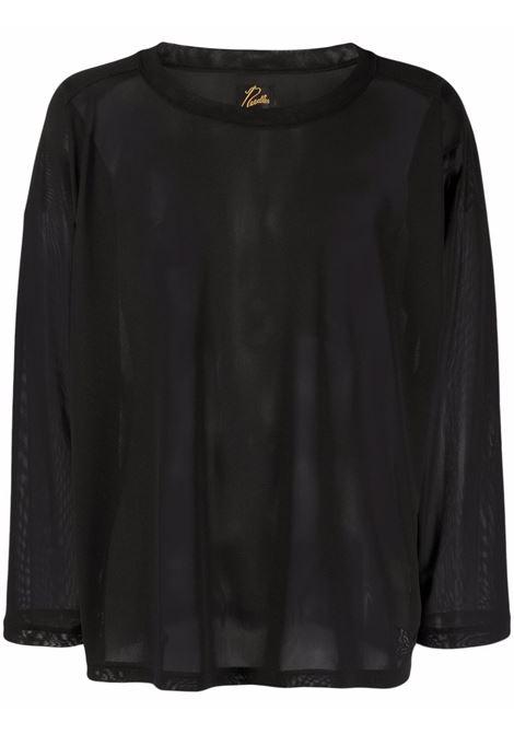 L/S neck t-shirt uomo NEEDLES | T-shirts | IN212BLACK