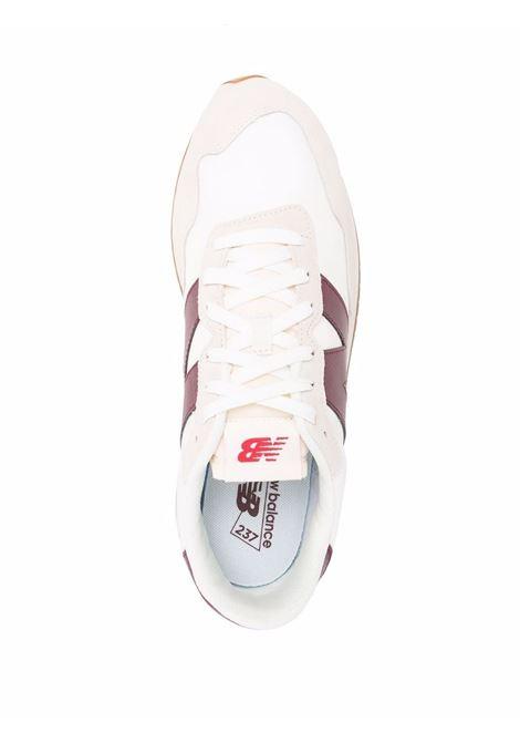 Sneakers ms237 Bordeaux Uomo Pelle NEW BALANCE | Sneakers | MS237SB