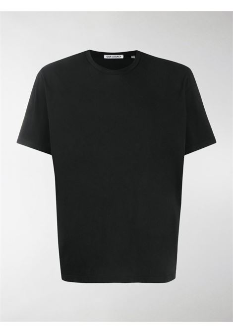 Our Legacy t-shirt new box uomo nero OUR LEGACY | T-shirt | M2206NBLBLACK