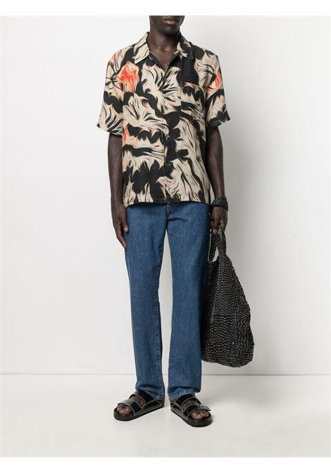 Our Legacy camicia con stampa astratta uomo multicolore OUR LEGACY   Camicie   M2212BSPPPLATIGYRA
