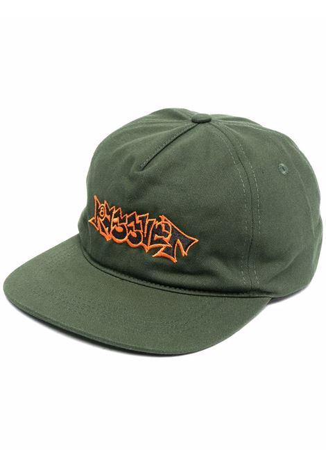 Cappello con logo Verde in Cotone Uomo RASSVET | Cappelli | PACC8K002GREEN