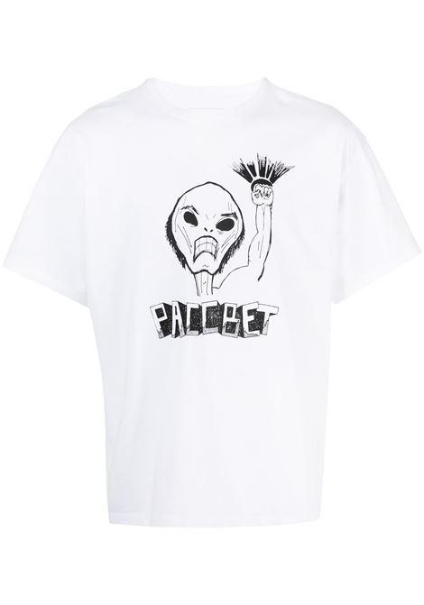Rassvet t-shirt con stampa uomo RASSVET | T-shirt | PACC8T003WHITE