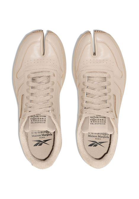 project 0 cl tabi uomo beige in pelle REEBOK X MAISON MARGIELA | Sneakers | GX5141MODBEI