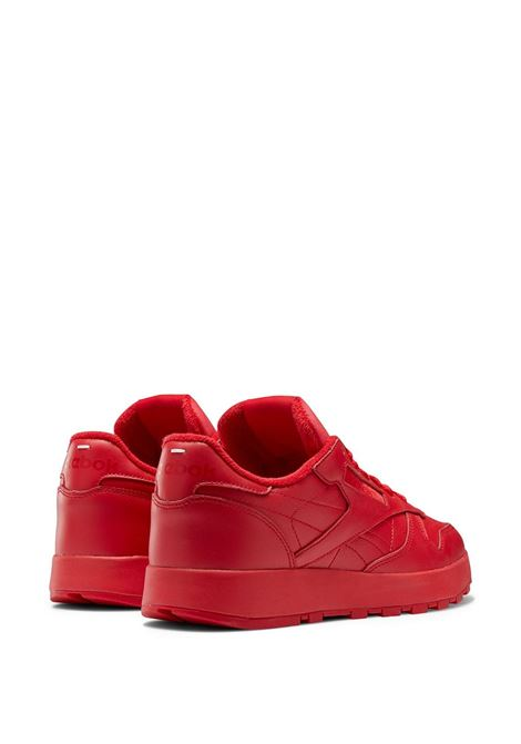 project 0 cl man red leather REEBOK X MAISON MARGIELA | Sneakers | H04866RED