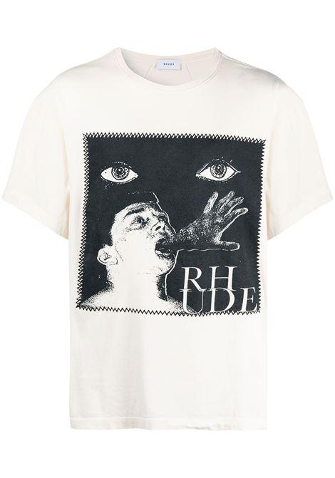 PRINT T-SHIRT RHUDE | T-shirts | RHPS21TT110053