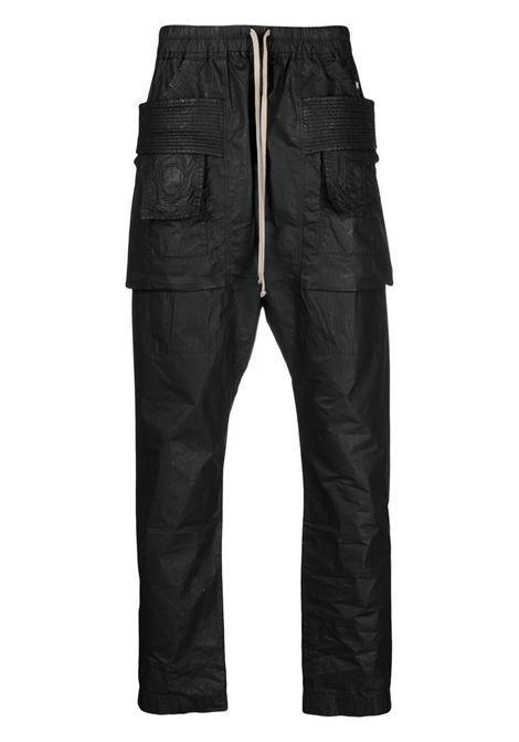 Rick Owens Drkshdw pantaloni a gamba dritta uomo nero RICK OWENS DRKSHDW | Pantaloni | DU21S2376 PW09