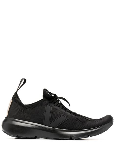 Rick Owens X Veja sock low top sneakers man black RICK OWENS X VEJA | Sneakers | VM21S6800 KVE99
