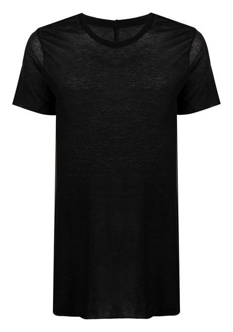 SEMI-SHEER T-SHIRT  RICK OWENS | T-shirts | RU21S6251 UC09