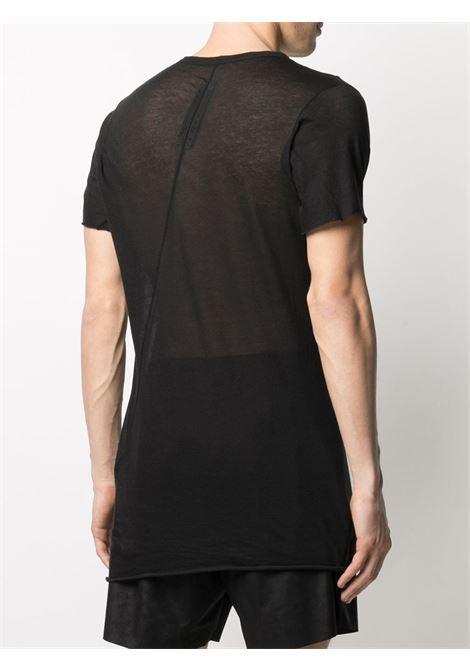 Rick Owens t-shirt semi-trasparente uomo RICK OWENS | T-shirt | RU21S6251 UC09