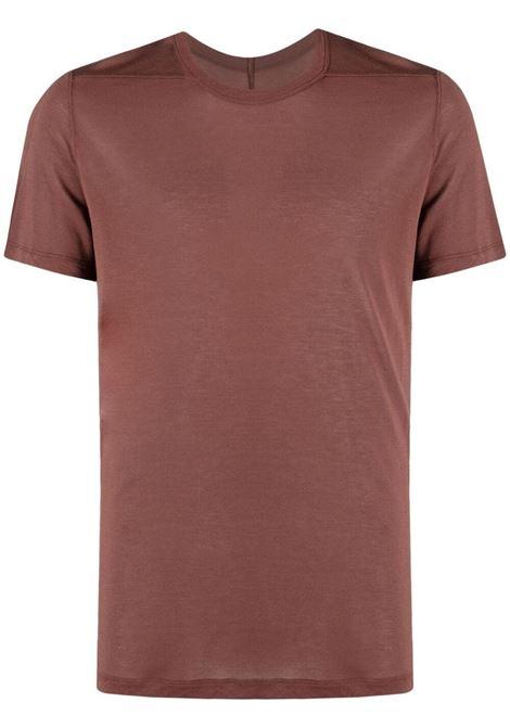 COTTON T-SHIRT RICK OWENS | T-shirts | RU21S6265 JS23
