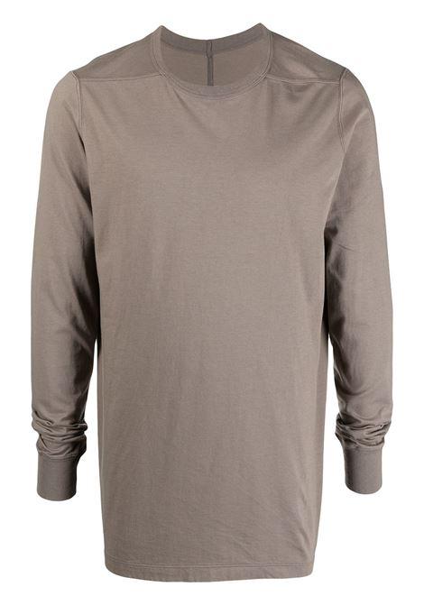 Rick Owens t-shirt manica lunga uomo RICK OWENS | T-shirt | RU21S6266 JA34