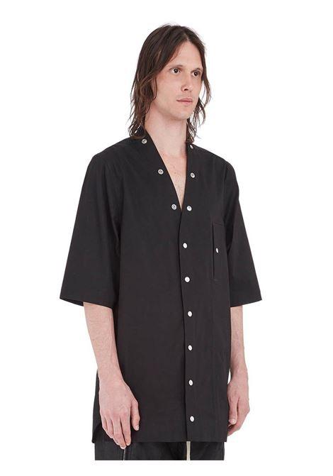 Rick Owens camicia lunga uomo RICK OWENS | Camicie | RU21S6294 TE09