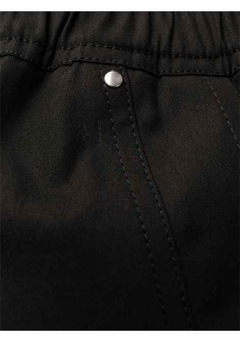 ZIP DETAIL DRAWSTRING TROUSERS RICK OWENS | Trousers | RU21S6361 TE09