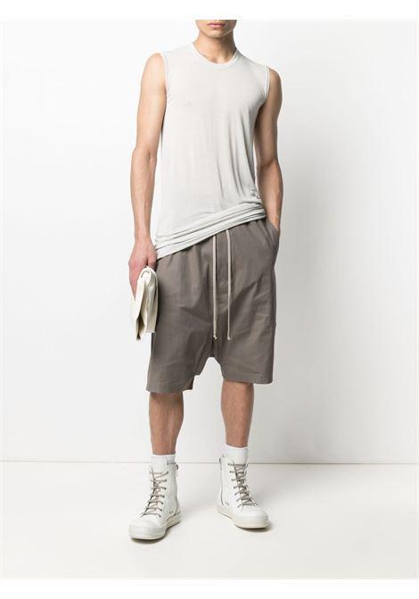 FASTENING KNEE LENGHT SHORTS RICK OWENS | Shorts | RU21S6384 TE34
