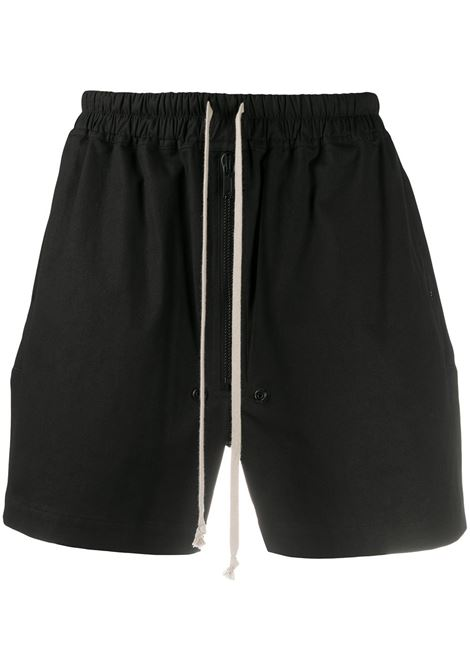 BLACK SHORTS RICK OWENS | Shorts | RU21S6391 TE09