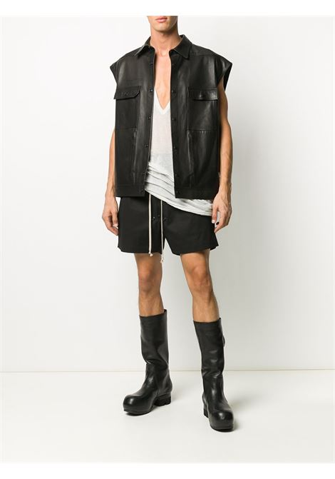 BLACK SHORTS RICK OWENS | Shorts | RU21S6391 TE09