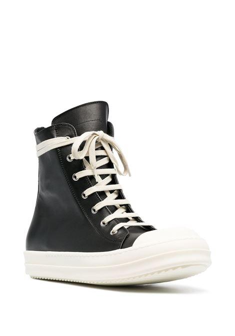 Rick Owens stivaletto in pelle uomo RICK OWENS | Sneakers | RU21S6890 LPO911