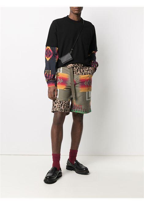 Sacai bermuda con cintura uomo SACAI | Bermuda | 21-02473MBEIGE