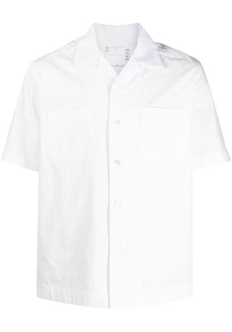 COTTON POPLIN SHIRT SACAI | Shirts | 21-02495MWHITE