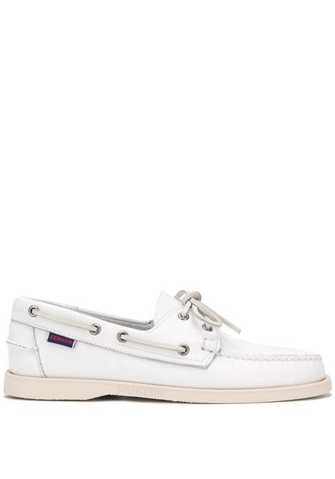 Sebago dockside loafers man white SEBAGO | Loafers | 7000H00911
