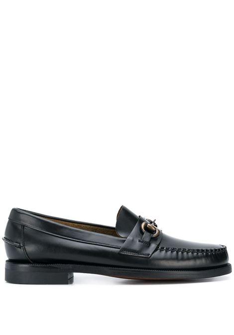 Sebago horse bit embellished loafer man black SEBAGO | Loafers | 7001570902
