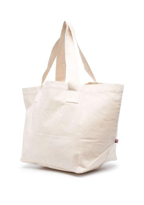 Sporty & Rich borsa con logo stampato unisex beige SPORTY & RICH | Borse | AC141NT