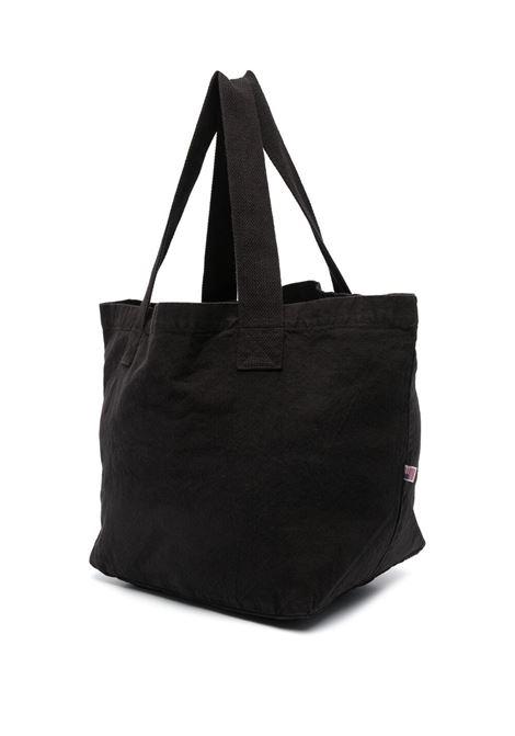 Sporty & Rich borsa con logo stampato unisex nero SPORTY & RICH | Borse | AC143BK