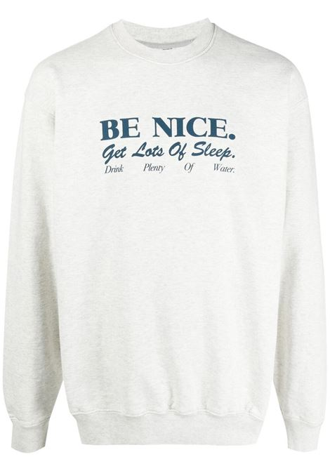 Sporty & Rich print sweatshirt unisex grey SPORTY & RICH | Sweatshirts | CR093HG2