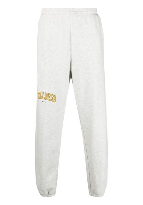 Sporty & Rich pantaloni wellness unisex grigio SPORTY & RICH   Pantaloni   SW141HG