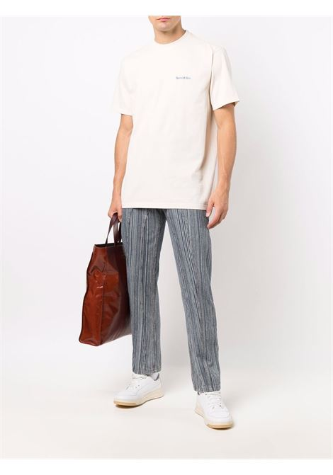 logo t-shirt man in cotton SPORTY & RICH | T-shirts | TS181MK