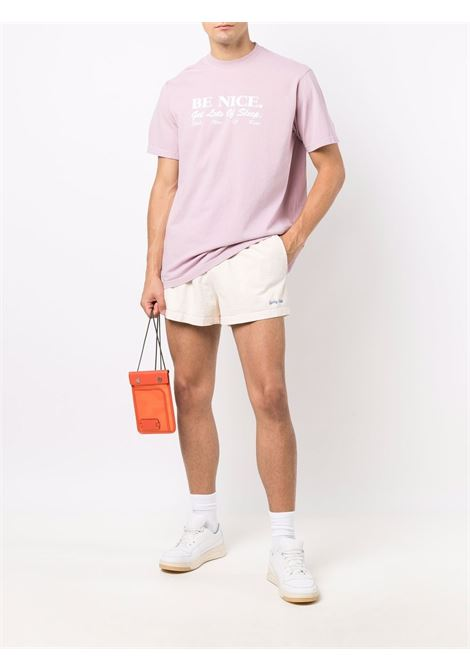 be nice t-shirt unisex pink in cotton SPORTY & RICH | T-shirts | TS182FN