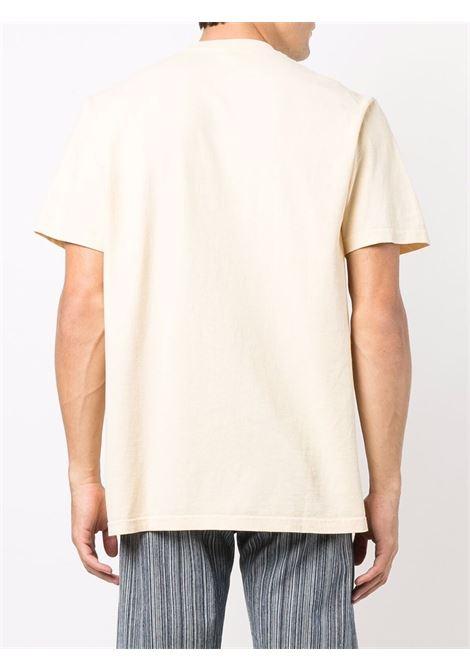 good health t-shirt unisex beige in cotton SPORTY & RICH | T-shirts | TS185CI