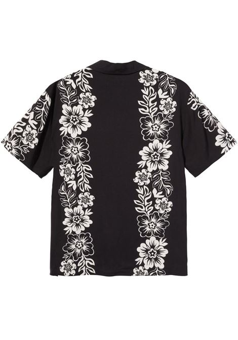 FLOWER SHIRT  STUSSY | Shirts | 1110157BLACK