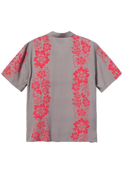 Stussy camicia hawaiian pattern uomo STUSSY | Camicie | 1110157GREY