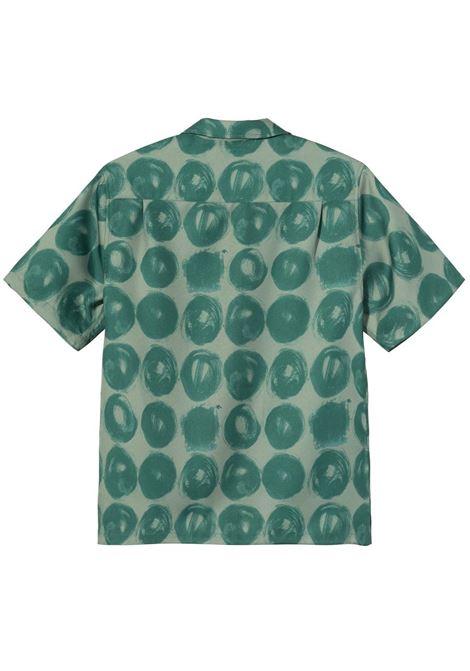 HAND DRAWN DOT SHIRT STUSSY | Shirts | 1110158GREEN