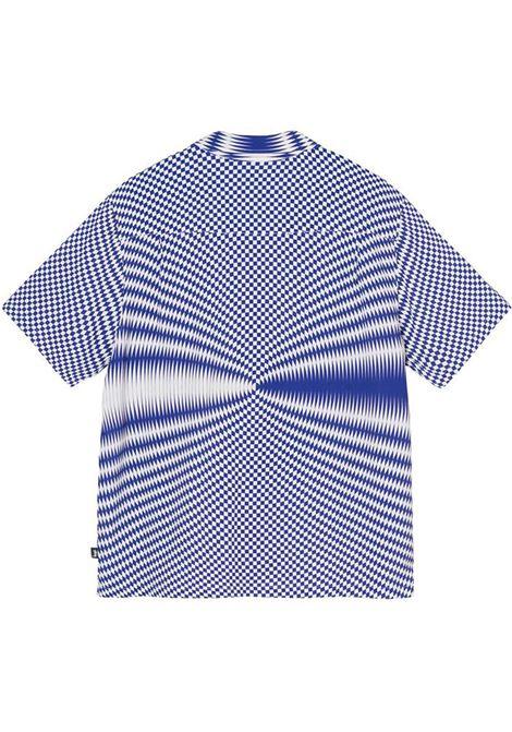 Psychedelic check shirt White Man Polyester STUSSY | Shirts | 1110165WHITE
