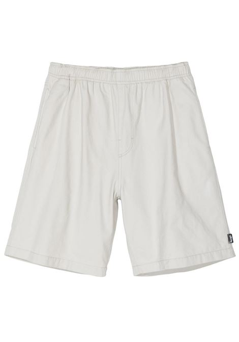BRUSHED BEACH SHORT STUSSY | Shorts | 112247STBONE