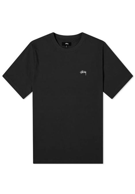 Stussy t-shirt con logo uomo STUSSY | T-shirt | 1140241BLACK