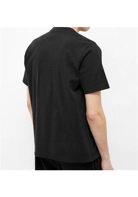 T-Shirt Con Logo Nera Uomo in Cotone STUSSY | T-shirt | 1140241BLACK