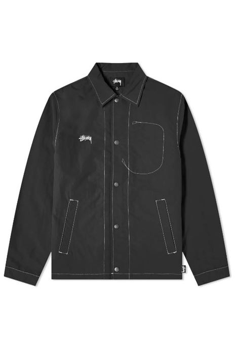 Stussy giacca folsom coach uomo STUSSY | Giacche | 115555BLACK