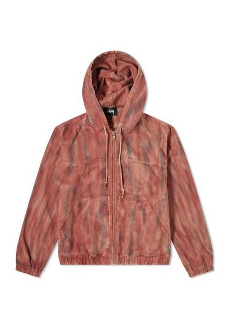 Stussy giacca da lavoro tinta uomo STUSSY | Giacche | 115565RUST