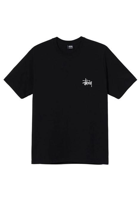 Stussy t-shirt basic uomo STUSSY | T-shirt | 1904649BLACK