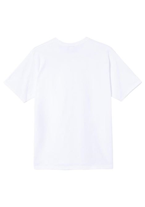 Stussy t-shirt something's cookin uomo STUSSY | T-shirt | 1904657WHITE