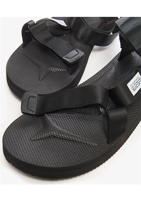 Suicoke sandali depa cab uomo nero SUICOKE | Sandali | 0G-022CAB001