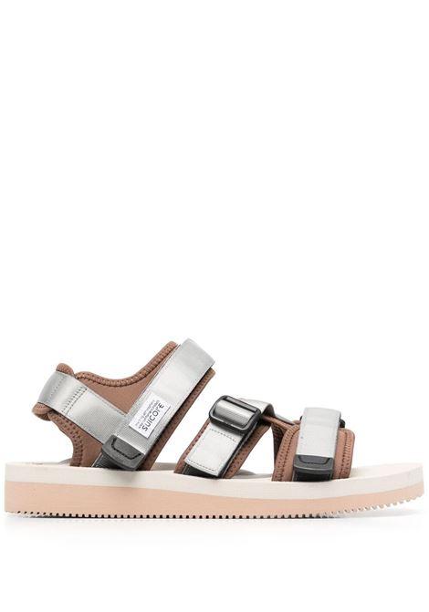 Suicoke touch strap sandals man grey SUICOKE | Sandals | OG-044V122