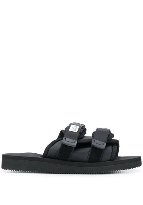 Suicoke moto-cab sandals man black SUICOKE | Sandals | OG-056CAB001